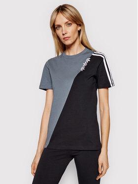adidas adidas T-shirt adicolor Sliced Trefoil GN2827 Šarena Regular Fit