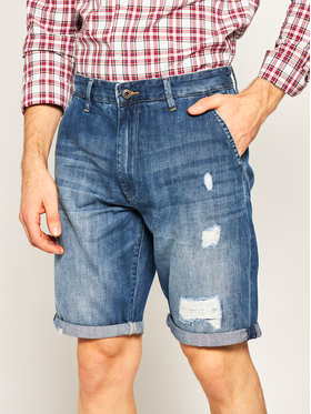 Pepe Jeans Pepe Jeans Jeansshorts Callen PM800771 Blau Relaxed Fit
