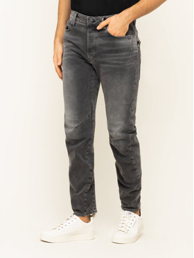 G-Star Raw G-Star Raw Jeansy Regular Fit Tobog D14459-B479-A800 Szary Relaxed Fit