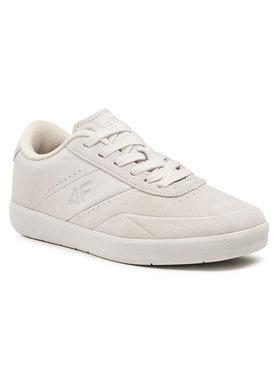 4F 4F Sneakersy D4L21-OBML200 Biały