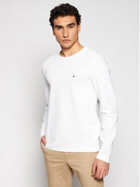 Tommy Hilfiger Tommy Hilfiger Тениска с дълъг ръкав Wafle MW0MW16796 Бял Regular Fit