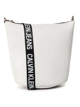 Calvin Klein Jeans Calvin Klein Jeans Τσάντα Mini Bucket K60K606893 Λευκό