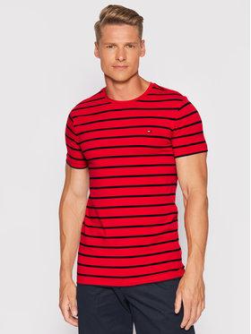 Tommy Hilfiger Tommy Hilfiger T-shirt Stretch MW0MW10800 Crvena Slim Fit