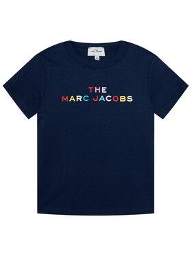 Little Marc Jacobs Little Marc Jacobs T-shirt W15510 S Blu scuro Regular Fit