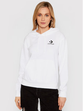 Converse Converse Bluza Empowerment 10021655-A01 Biały Regular Fit
