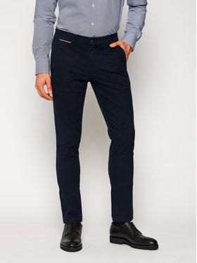 Tommy Hilfiger Tommy Hilfiger Παντελόνι υφασμάτινο Bleecker MW0MW14948 Σκούρο μπλε Slim Fit