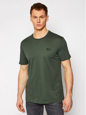 EA7 Emporio Armani EA7 Emporio Armani T-shirt 8NPT51 PJM9Z 1862 Verde Regular Fit