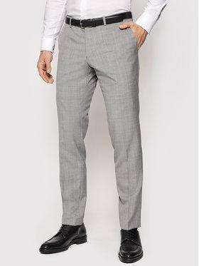 Oscar Jacobson Oscar Jacobson Панталон от костюм Damien 537 8515 Сив Slim Fit