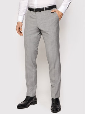 Oscar Jacobson Oscar Jacobson Pantalone da abito Damien 537 8515 Grigio Slim Fit