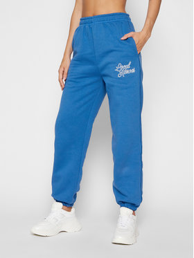 Local Heroes Local Heroes Pantalon jogging Embroidery On The Side AW21P0001 Bleu marine Regular Fit