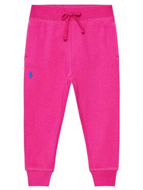 Polo Ralph Lauren Polo Ralph Lauren Παντελόνι φόρμας Fleece 311833611001 Ροζ Regular Fit
