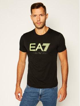 EA7 Emporio Armani EA7 Emporio Armani T-shirt 6HPT81 PJM9Z 1200 Nero Regular Fit