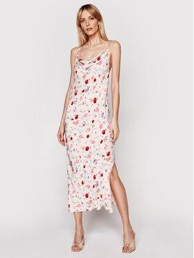 Samsøe Samsøe Samsøe Samsøe Sukienka letnia Apples Ml F21100108 Różowy Slim Fit