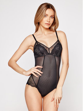 SPANX SPANX Body Spotlight On Lace 10219R Μαύρο
