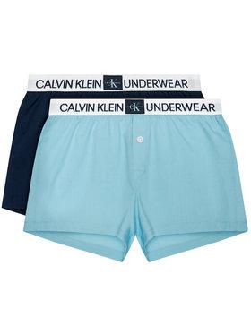 Calvin Klein Underwear Calvin Klein Underwear Σετ 2 ζευγάρια μποξεράκια B70B700326 Μπλε