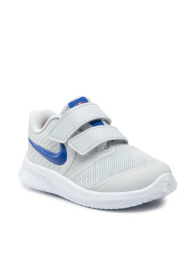 Nike Nike Boty Star Runner 2 (TDV) AT1803 013 Šedá