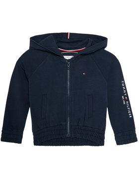 TOMMY HILFIGER TOMMY HILFIGER Sweatshirt Essential Zip Through KG0KG05491 M Dunkelblau Regular Fit