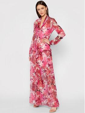 Liu Jo Liu Jo Sukienka letnia IA1102 T2461 Różowy Regular Fit