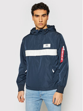 Alpha Industries Alpha Industries Anorak stiliaus striukė Defense 126133 Tamsiai mėlyna Regular Fit