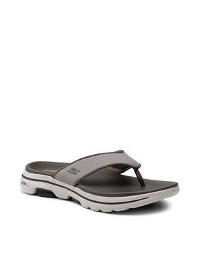 Skechers Skechers Джапанки Go Walk 5 Varson 229005/TPE Сив