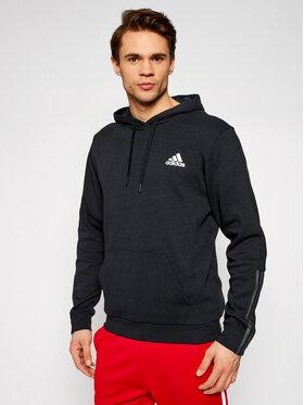 adidas adidas Μπλούζα Dk Hd GP8598 Μαύρο Regular Fit