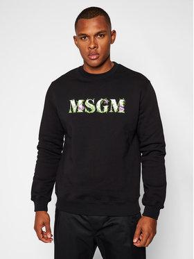 MSGM MSGM Džemperis 2940MM219 207599 Juoda Regular Fit