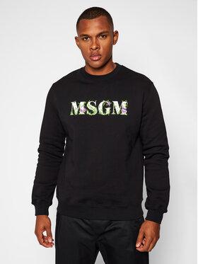 MSGM MSGM Суитшърт 2940MM219 207599 Черен Regular Fit