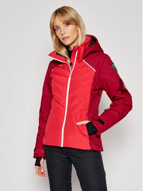 Rossignol Rossignol Kurtka narciarska Courbe ROSSIGNOL-RLIWJ08 Czerwony Slim Fit