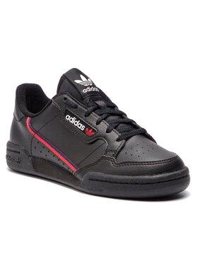adidas adidas Обувки Continental 80 J F99786 Черен