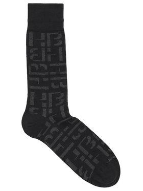 Hugo Hugo Férfi hosszú szárú zokni Rsmaximonogramcc Us 50439273 Fekete