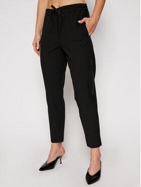 Marella Marella Kalhoty z materiálu Nasco 31360707 Černá Regular Fit