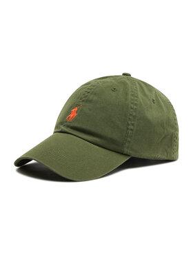 Polo Ralph Lauren Polo Ralph Lauren Kepurė su snapeliu Hat 1710811338008 Žalia