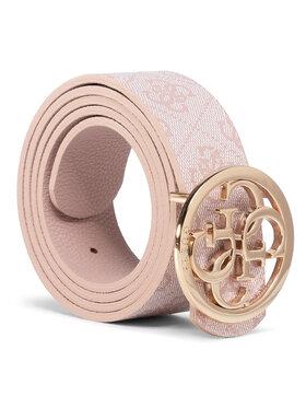 Guess Guess Pasek Damski Cathleen (SG) Belts BW7341 VIN35 Różowy