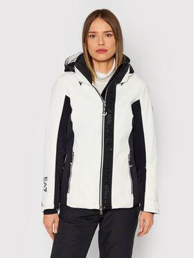 EA7 Emporio Armani EA7 Emporio Armani Skijaška jakna 6KTG08 TN44Z 1150 Bijela Regular Fit