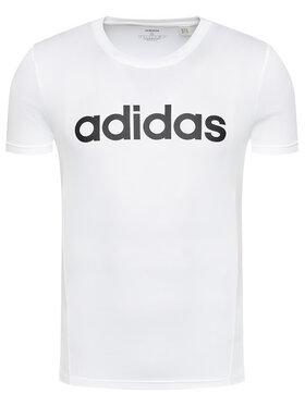 adidas adidas T-Shirt Design 2 Move FL0302 Λευκό Regular Fit