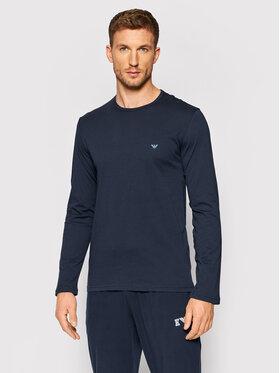 Emporio Armani Underwear Emporio Armani Underwear Тениска с дълъг ръкав 111653 1A722 00135 Тъмносин Regular Fit