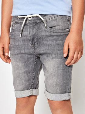 Pepe Jeans Pepe Jeans Jeansshorts GYMDIGO Joe PB800646 Grau Regular Fit