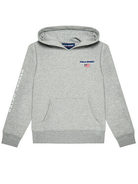 Polo Ralph Lauren Polo Ralph Lauren Sweatshirt Ls Po 323836667003 Gris Regular Fit