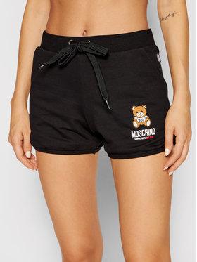 MOSCHINO Underwear & Swim MOSCHINO Underwear & Swim Short de sport 4310 9020 Noir Regular Fit