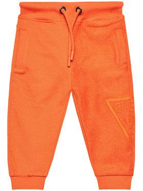 Guess Guess Pantalon jogging N1RQ09 KA6R0 Orange Regular Fit