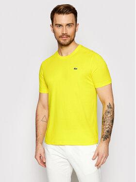 Lacoste Lacoste T-shirt TH7618 Jaune Regular Fit