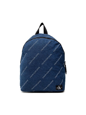 Calvin Klein Calvin Klein Hátizsák Denim Logo Jacquard Backpack IU0IU00207 Sötétkék