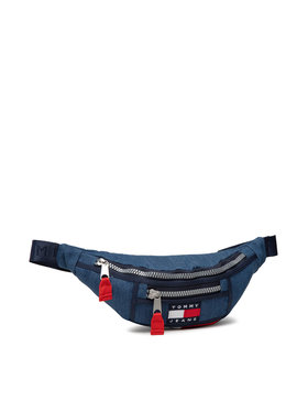 Tommy Jeans Tommy Jeans Τσαντάκι μέσης Tjw Heritage Bumbag Denim AW0AW10235 Σκούρο μπλε