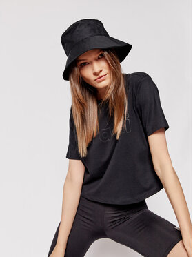 Sprandi Sprandi T-Shirt SS21-TSD006 Černá Cropp Fit