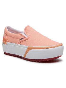 Vans Vans Πάνινα παπούτσια Classic Slip-On S VN0A4TZV46M1 Ροζ