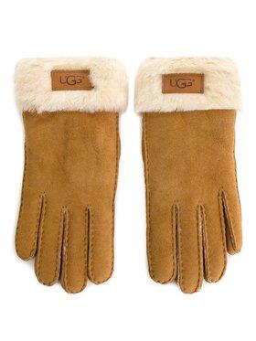 Ugg Ugg Дамски ръкавици W Turn Cuff Glove 17369 Кафяв