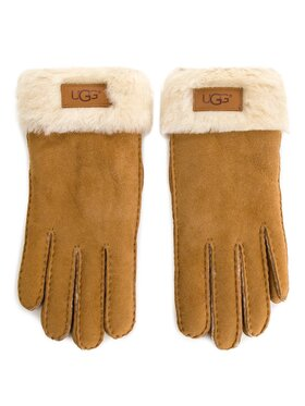 Ugg Ugg Γάντια Γυναικεία W Turn Cuff Glove 17369 Καφέ
