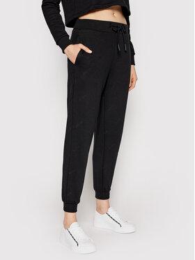 Guess Guess Spodnie dresowe O1GA14 K8800 Czarny Regular Fit