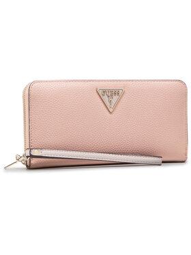 Guess Guess Velká dámská peněženka Becca (Vg) Slg SWVG77 42460 Růžová