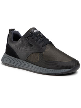 Boss Boss Sneakersy Titanium 50446667 10232903 01 Černá